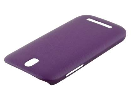 HTC One SV Ultra Slim Case plus Screen Protector - Grape Purple