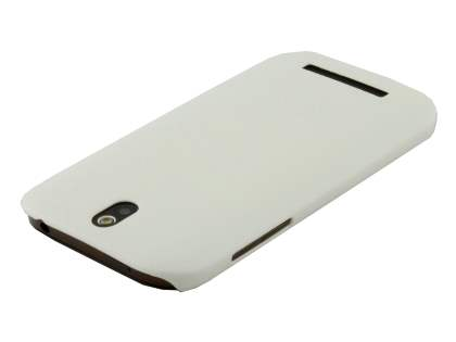 HTC One SV Ultra Slim Case plus Screen Protector - Pearl White