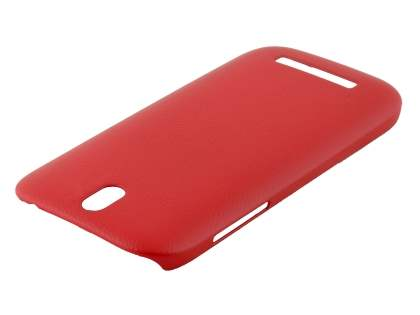HTC One SV Ultra Slim Case plus Screen Protector - Red