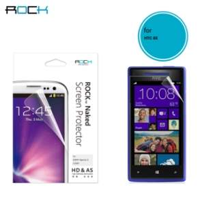 ROCK HTC Windows Phone 8X Naked HD & AS Screen Protector - Screen Protector