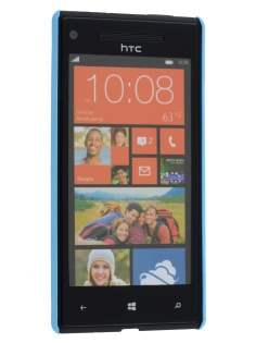HTC Windows Phone 8X Ultra Slim Case plus Screen Protector - Sky Blue
