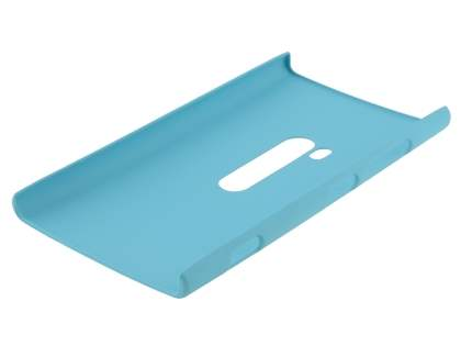 Vollter Nokia Lumia 920 Ultra Slim Rubberised Case plus Screen Protector - Sky Blue