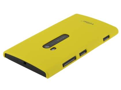 Vollter Ultra Slim Rubberised Case for Nokia Lumia 920 - Canary Yellow