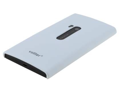 Vollter Nokia Lumia 920 Ultra Slim Rubberised Case plus Screen Protector - Pearl White