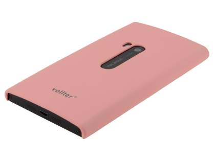 Vollter Ultra Slim Rubberised Case for Nokia Lumia 920 - Baby Pink