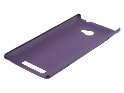 HTC Windows Phone 8X Ultra Slim Case plus Screen Protector - Purple