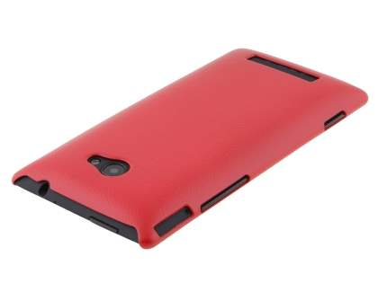HTC Windows Phone 8X Ultra Slim Case plus Screen Protector - Red