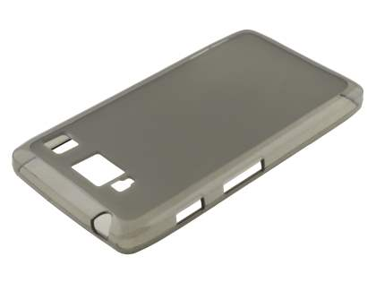 Frosted TPU Case for Motorola RAZR HD 4G XT925 - Frosted Grey