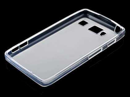 Motorola RAZR HD 4G XT925 Frosted TPU Case - Frosted Clear