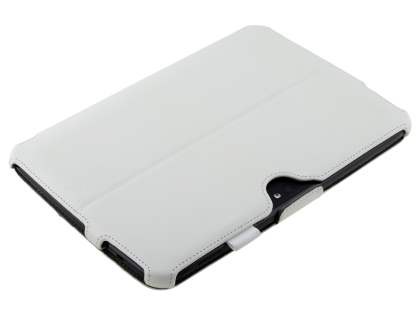 Synthetic Leather Smart Case with Multi-Angle Tilt Stand for Samsung Google Nexus 10 - Ivory