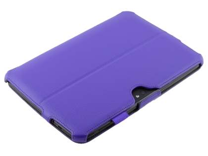 Synthetic Leather Smart Case with Multi-Angle Tilt Stand for Samsung Google Nexus 10 - Purple