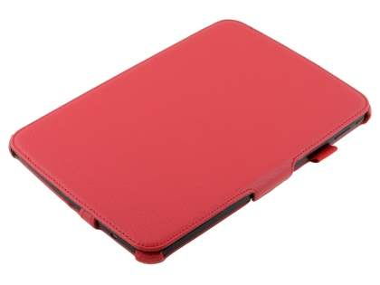 Synthetic Leather Smart Case with Multi-Angle Tilt Stand for Samsung Google Nexus 10 - Red