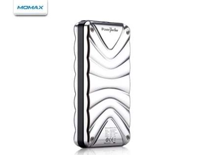 MOMAX iPower Turbo High Capacity External Battery Pack - Silver