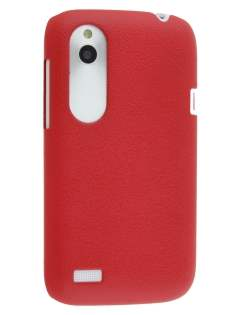 Ultra Slim Case for HTC Desire X - Red Hard Case