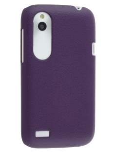 Ultra Slim Case for HTC Desire X - Grape Purple Hard Case