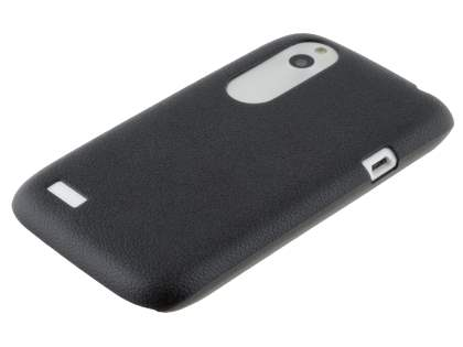 HTC Desire X Ultra Slim Case plus Screen Protector - Classic Black