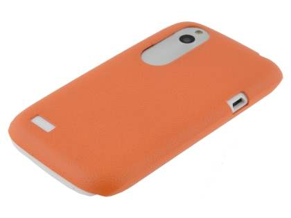 HTC Desire X Ultra Slim Case plus Screen Protector - Orange