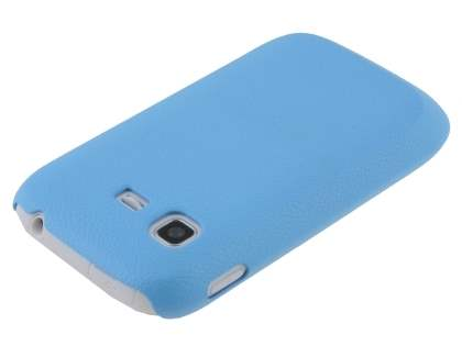 Ultra Slim Case plus Screen Protector for Samsung Galaxy Pocket S5300 - Sky Blue