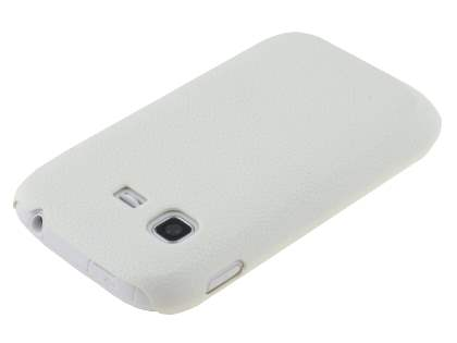 Samsung Galaxy Pocket S5300 Ultra Slim Case plus Screen Protector - Pearl White
