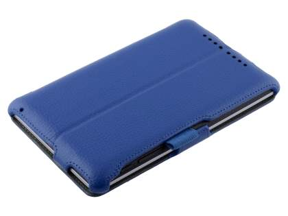 Synthetic Leather Flip Case with Multi-Angle Tilt Stand for Asus Google Nexus 7 2012 - Blue