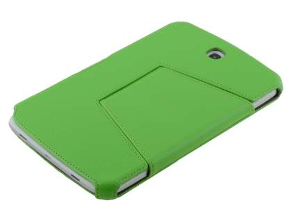 Slim Synthetic Leather Flip Cover with built-in Stand for Samsung Galaxy Note 8.0 - Green