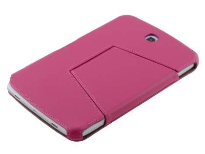 Slim Synthetic Leather Flip Cover with built-in Stand for Samsung Galaxy Note 8.0 - Pink