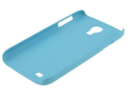 Vollter Samsung Galaxy S4 I9500 Ultra Slim Rubberised Case plus Screen Protector - Sky Blue