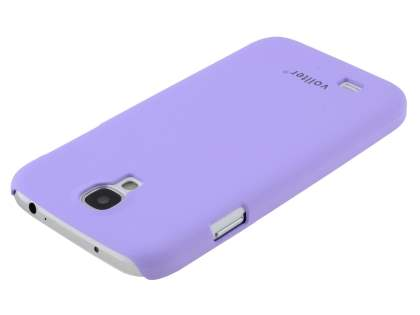 Vollter Ultra Slim Rubberised Case for Samsung Galaxy S4 I9500 - Light Purple