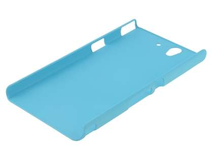 Vollter Sony Xperia Z  Ultra-Slim Rubberised Case plus Screen Protector - Sky Blue