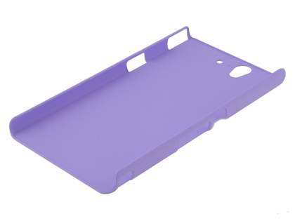 Vollter Sony Xperia Z  Ultra-Slim Rubberised Case plus Screen Protector - Light Purple