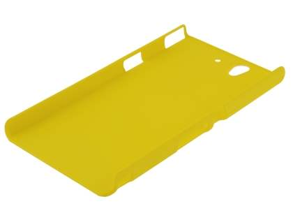 Vollter Sony Xperia Z  Ultra-Slim Rubberised Case plus Screen Protector - Canary Yellow