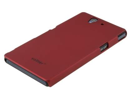 Vollter Ultra-Slim Rubberised Case for Sony Xperia Z - Red