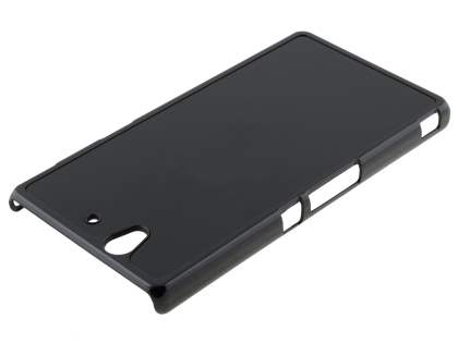 Brushed Aluminium Case for Sony Xperia Z - Classic Black