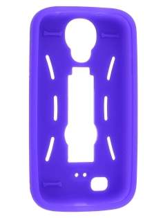 Defender Case with Stand for Samsung Galaxy S4 I9500 - Purple/Black