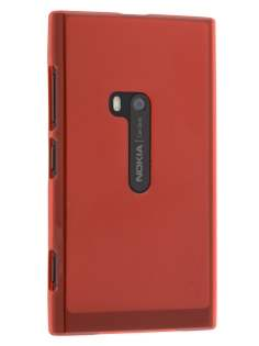 Nokia Lumia 920 Frosted TPU Case - Red