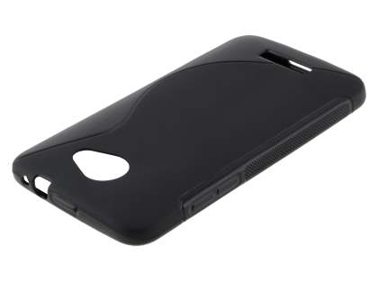 HTC Butterfly Wave Case - Frosted Black/Black