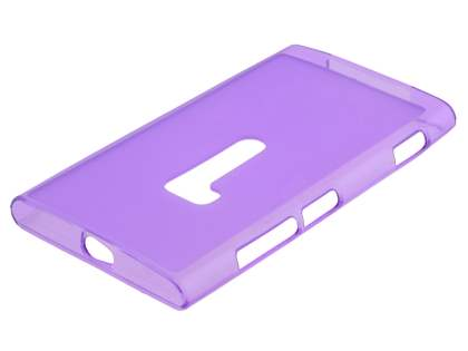 Nokia Lumia 920 Frosted TPU Case - Purple