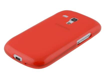 Samsung I8190 Galaxy S3 mini Frosted TPU Case - Frosted Red