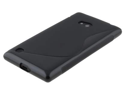 Wave Case for Nokia Lumia 720 - Frosted Black/Black