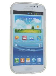 Frosted TPU Case for Samsung Galaxy Grand I9080 - Frosted Clear
