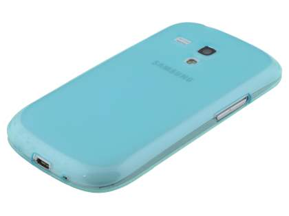 Samsung I8190 Galaxy S3 mini Frosted TPU Case - Frosted Blue