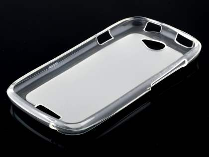 HTC One S Frosted TPU Case - Frosted Clear/Clear