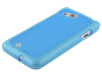 HTC Desire VC Frosted TPU Gel Case - Frosted Blue