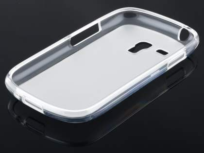 Frosted TPU Case for Samsung I8190 Galaxy S3 mini - Frosted Clear