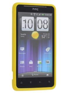 Mercury Goospery Glossy Gel Case for HTC Velocity 4G - Canary Yellow