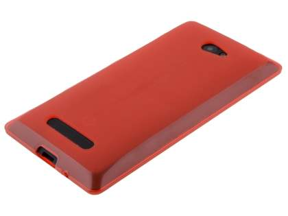 HTC Windows Phone 8X Frosted TPU Case - Red