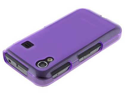 Samsung Galaxy Ace S5830 Frosted TPU Case - Frosted Purple