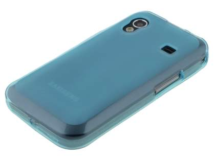 Samsung Galaxy Ace S5830 Frosted TPU Case - Frosted Blue