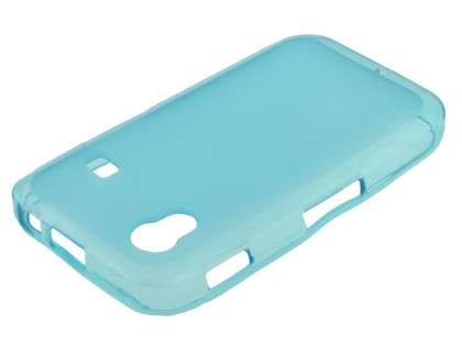 Frosted TPU Case for Samsung Galaxy Ace S5830 - Frosted Blue
