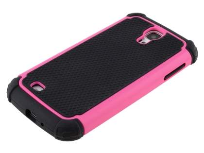 Impact Case for Samsung Galaxy S4 I9500 - Hot Pink/Classic Black